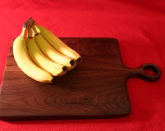 Walnut cutting board / serving tray