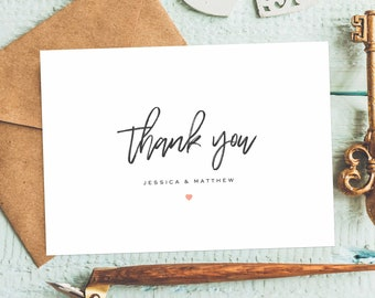 ELEGANT Thank You Cards, Thank You Cards Elegant, Thank You Cards Pack, Thank You Cards Printable, Thank You Cards Personalized, Thank You