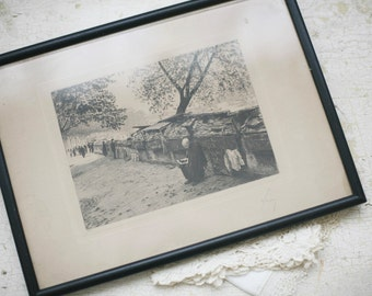Paris etching, no 33