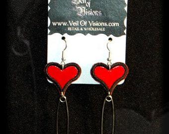 Sweetheart Pins earrings