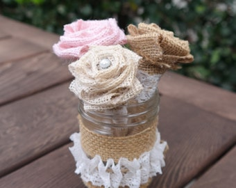 Wedding Guest Book Set, Decorated Pens and Jar Set, Rustic Wedding Guest Book Set