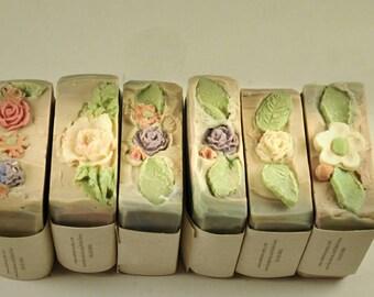 Honey caramel soap