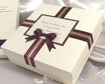 Wedding/birthday/special occasion keepsake memory box