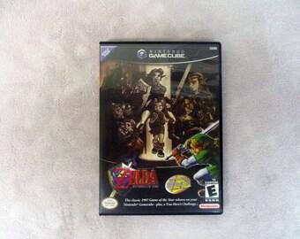 Legend of Zelda Ocarina of Time Master Quest  Custom GameCube Case Only (***NO GAME***)