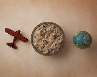 Digital Backdrop Newborn, Digital Background, Digital Backgrounds for Newborn Photography | Globe Trotting II