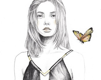 Butterfly Effect A4 Art Print