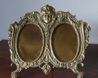 Ornate Bronze Frame Antique frame