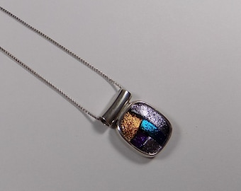 Beautiful sterling silver pendant and 16 inch sterling silver necklace