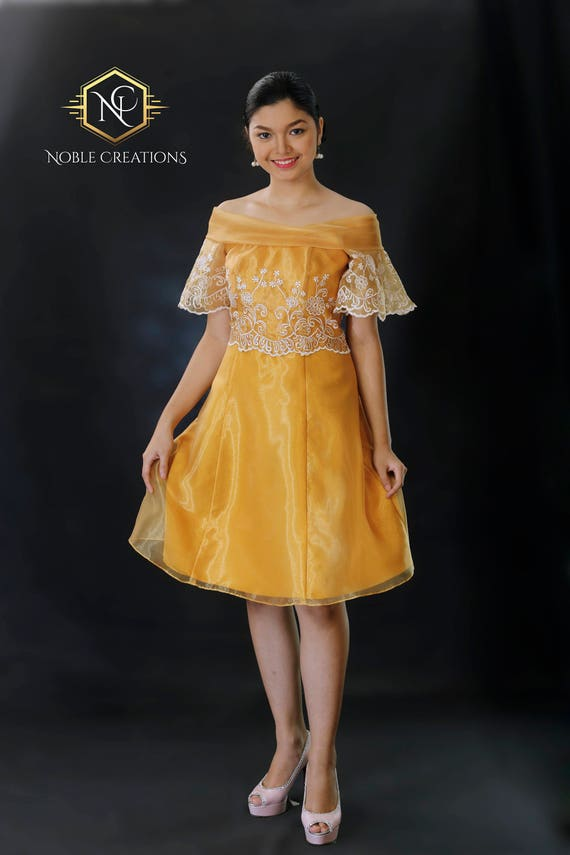 FILIPINIANA Kleid BARONG TAGALOG philippinischen nationalen