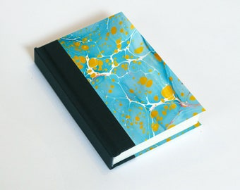 "Sketchbook 4x6"" with motifs of marbled papers - 20"