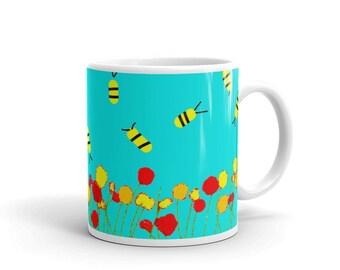 Spring Bee Mug