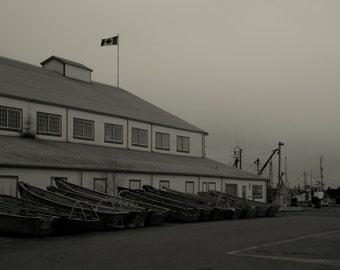 "BS015 Britannia Ship Yard, Steveston B.C. ""In for the night"""