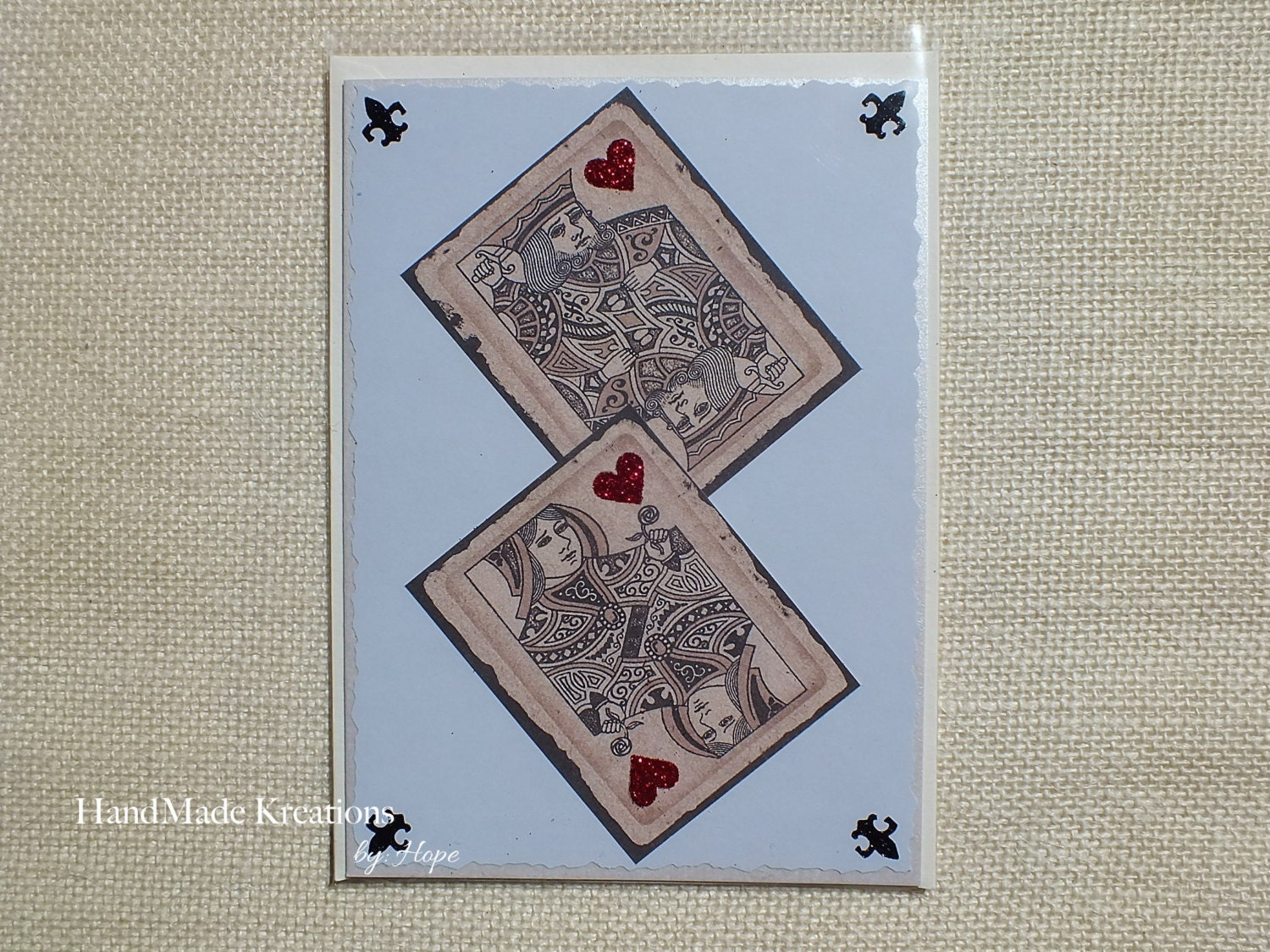 King queen of hearts birthday card happy birthday greeting zoom kristyandbryce Images