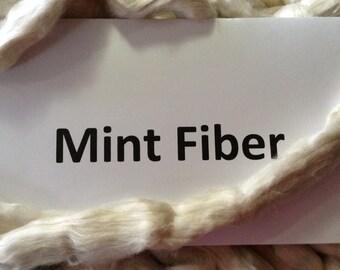 Mint top/roving-100 grams