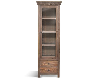 Bookcase, Display Cabinet, Bookshelves, Wood Cabinet, Reclaimed Wood, China  Cupboard,