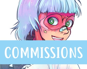 MANGA COMMISSIONS | Digital and Traditional | Contact me before