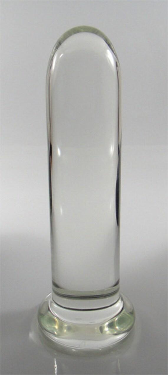 Large 6 Glass Vaginal Or Anal Dilator  Trainer Medical Sex-7303