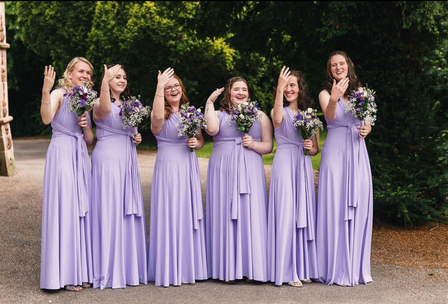 Bridesmaid dress wedding dress Infinity dress Convertible