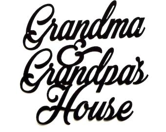 Grandma & Grandpa's House Wall Art