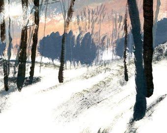 Hillside (Print)