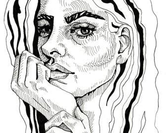 Not Enthused: Art Print