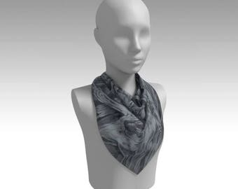 "Fine Art ""Driftwood"" Scarf/Head Scarf/Wrap/Accessory/Gifts for Her"