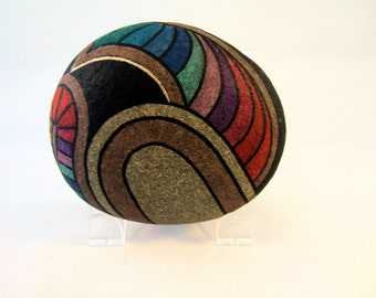 Collectible 3D Art Hand Painted Rocks Signed Numbered Dated Rock Art Cool Gifts for Home Decor & Office Decor Unique Gifts for Her or Him