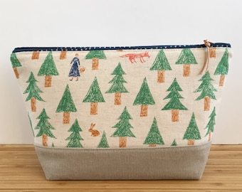SMALL Project Bag | Into the Woods