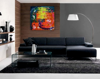 Contemporary painting on canvas from the Abstract Series 2015