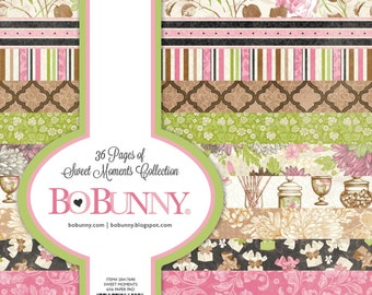 """BoBunny """"Sweet Moments"""" Collection 6x6 Pad"""