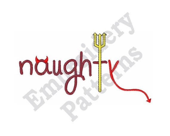 Naughty Machine Embroidery Design From Embpatterns On Etsy Studio