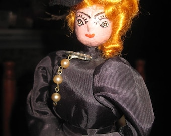 Belle Star Nut Head Artist Doll by Maisy M Coburn