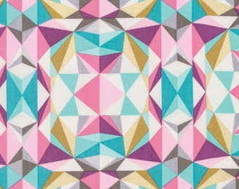 Modernist by Joel Dewberry for Free Spirit - Prismatic - Pink - 1/2 yard Cotton Quilt Fabric