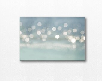 canvas wall art canvas print photography on canvas large canvas art abstract art print abstract photography bokeh fine art gray blue beige