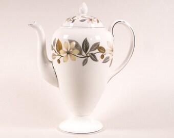 Wedgwood Beaconsfield coffee pot, Bone China, England