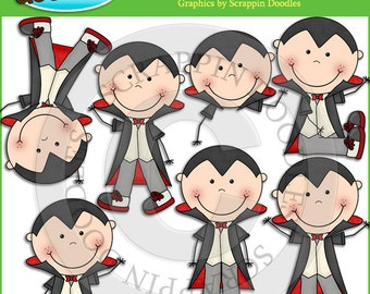 Little Dracula Clip Art