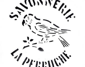 Limited edition poster parakeet - Design