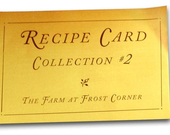 Recipe Card Collection #2