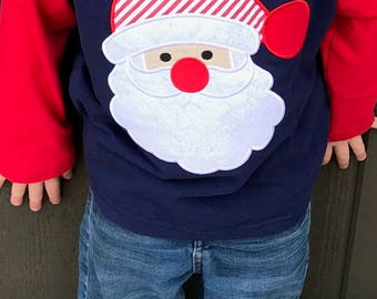 Boys Santa shirt