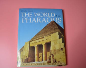 ON SALE !!!!  Book-The World of the Pharoahs by Christine Hobson
