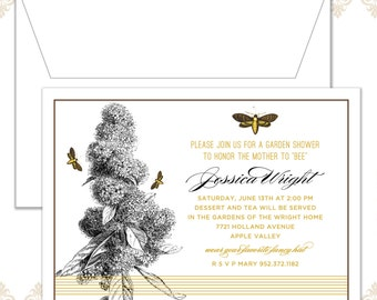 Bee Shower Invitation