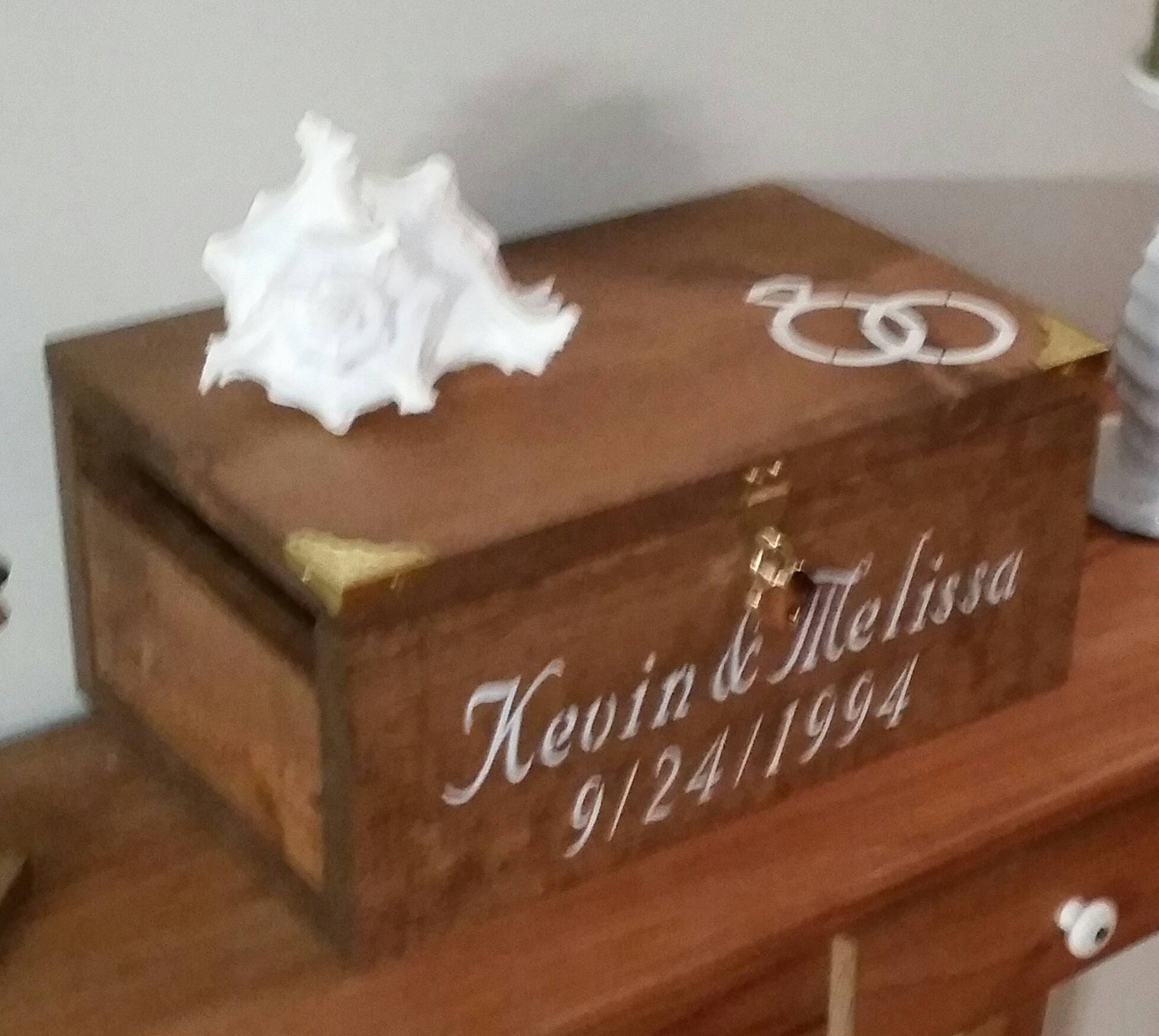 Personalized Wedding Card Box (Small)