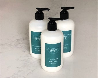 Hand & Body Lotion and Body Wash Set, 12 oz each, Choose your scent