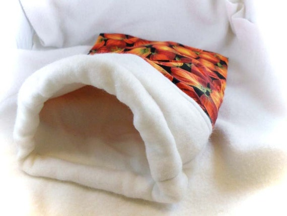 Pumpkin Little Critter Plush Snuggle Sleep Sack Bed for Your Favorite Little Pet