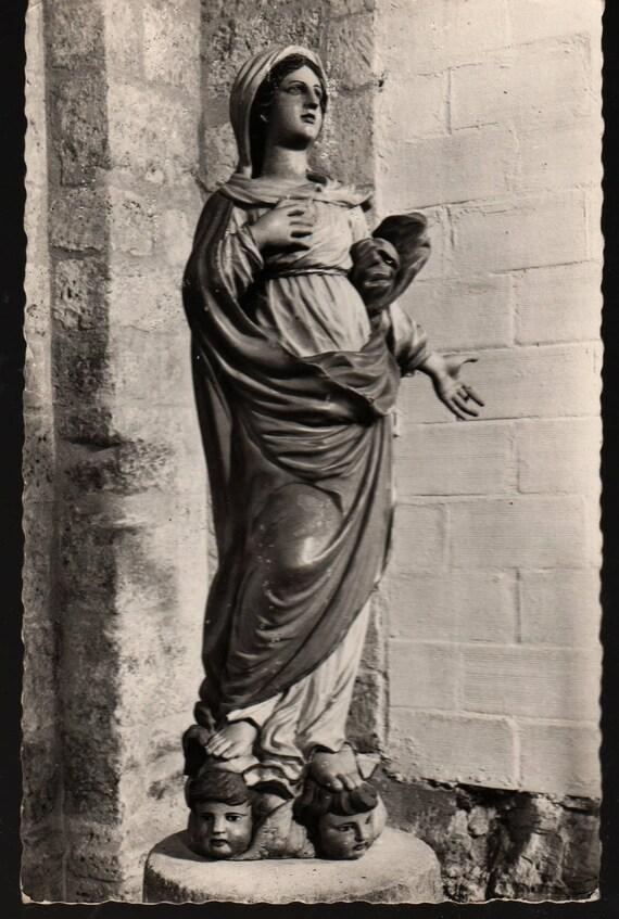 Notre-Dame en L'Isle + Saint-Georges-D'Oleron (Charente Maritime) + Vintage Photo Postcard