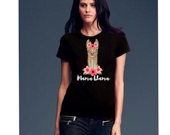 Llama shirt, mama shirt, llama gifts, mama llama, shirt mama, women shirt with saying, women tshirt with saying, mama gifts, shirt sayings