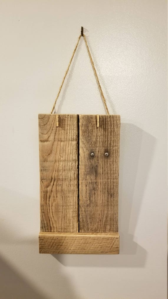 Aufgearbeiteten Holz Rahmen 4
