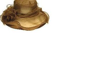 Chiffon Fabric Organza Head wear