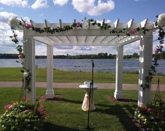 Handmade floral garland/vines