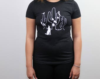 Women's Saguaro Desert Dwellers Tri-blend t-shirt, Size S-XXL